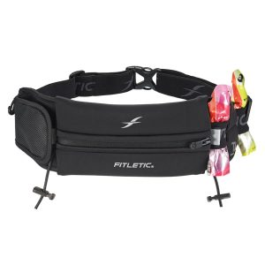 ultimate II running pouch with gels black