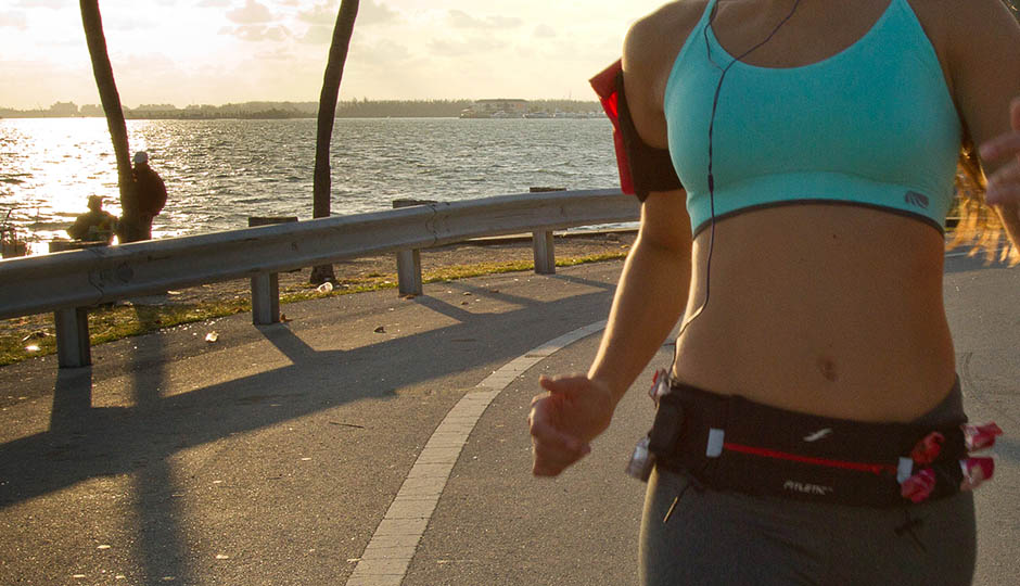 runner with fitletic gear
