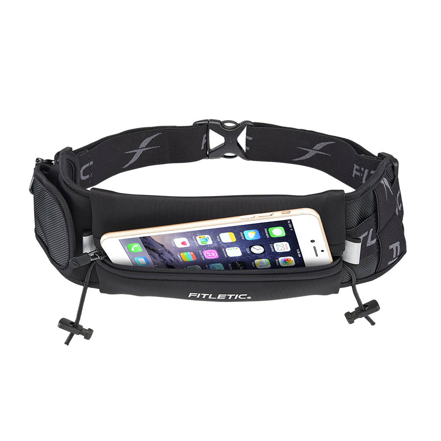 ultimate II running pouch with gels black phone