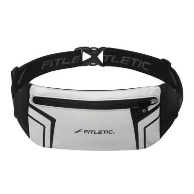 blitz sports and travel belt reflective silver