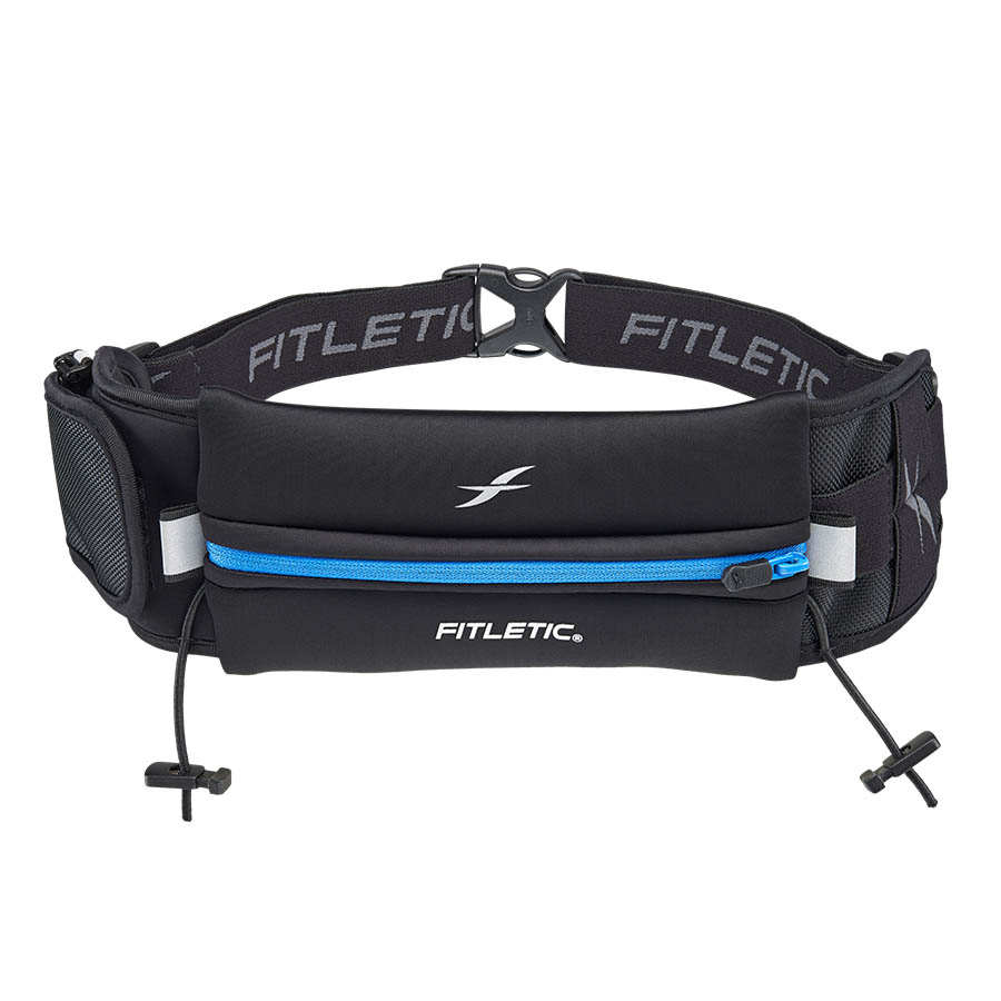 ultimate II running pouch with gels blue