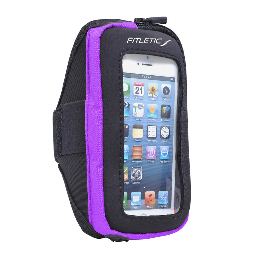 pace arm band purple