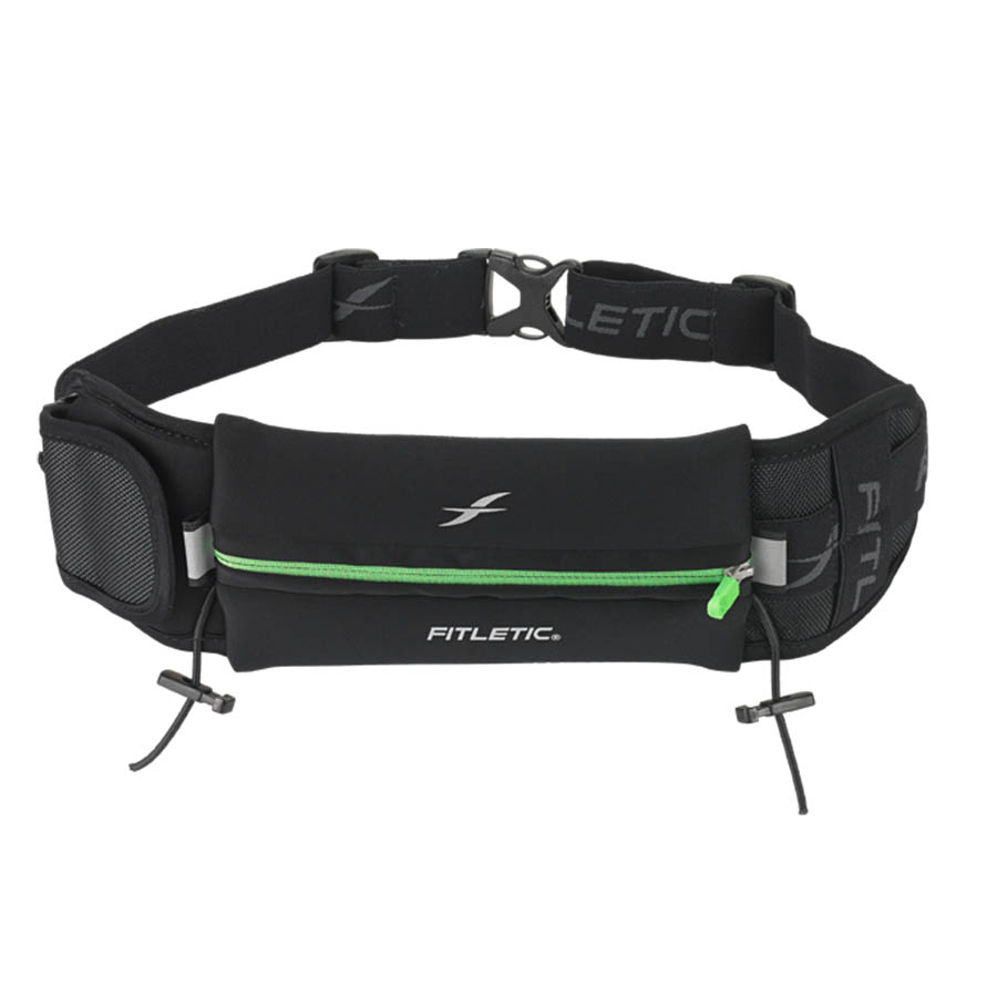 ultimate II running pouch with gels green