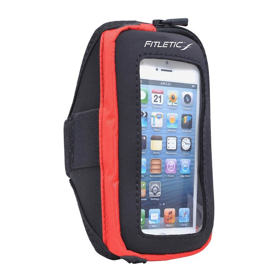 pace arm band red