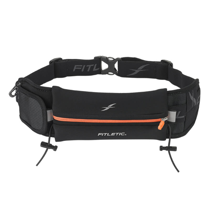 ultimate II running pouch with gels orange