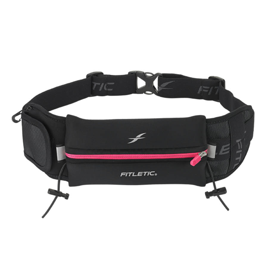 ultimate II running pouch with gels blue pink
