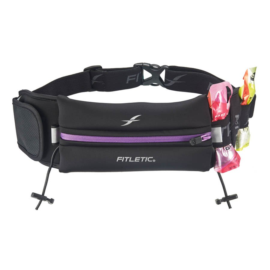 ultimate II running pouch with gels purple