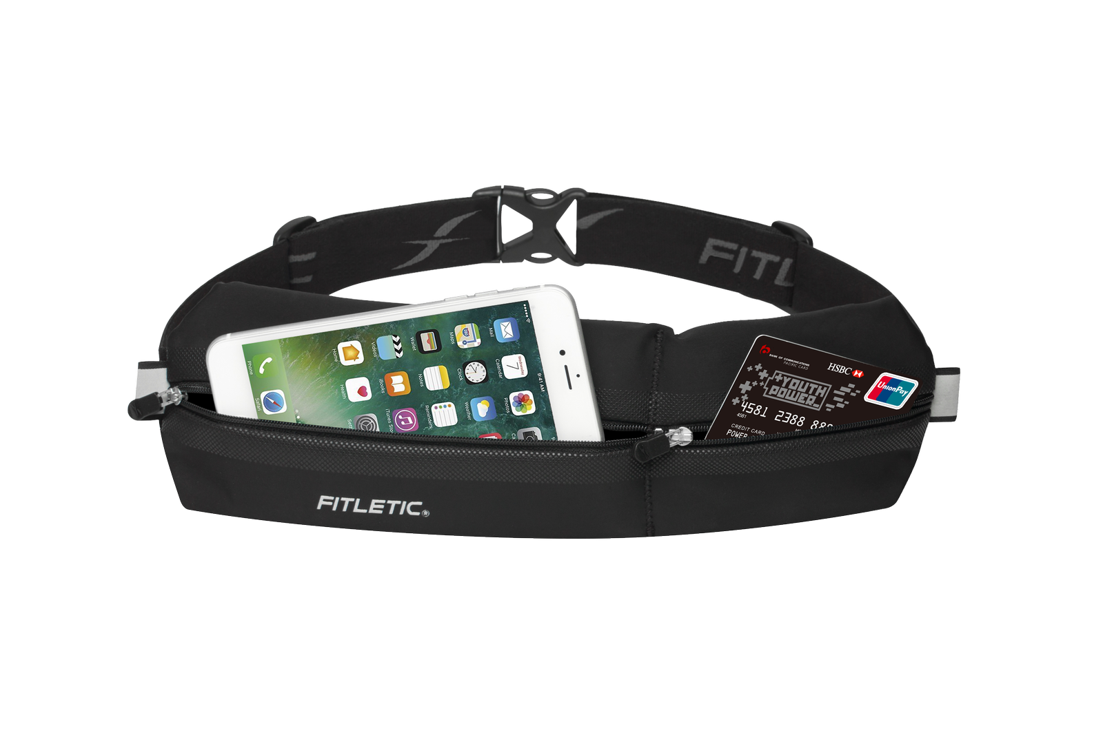 bold fit running pouch black