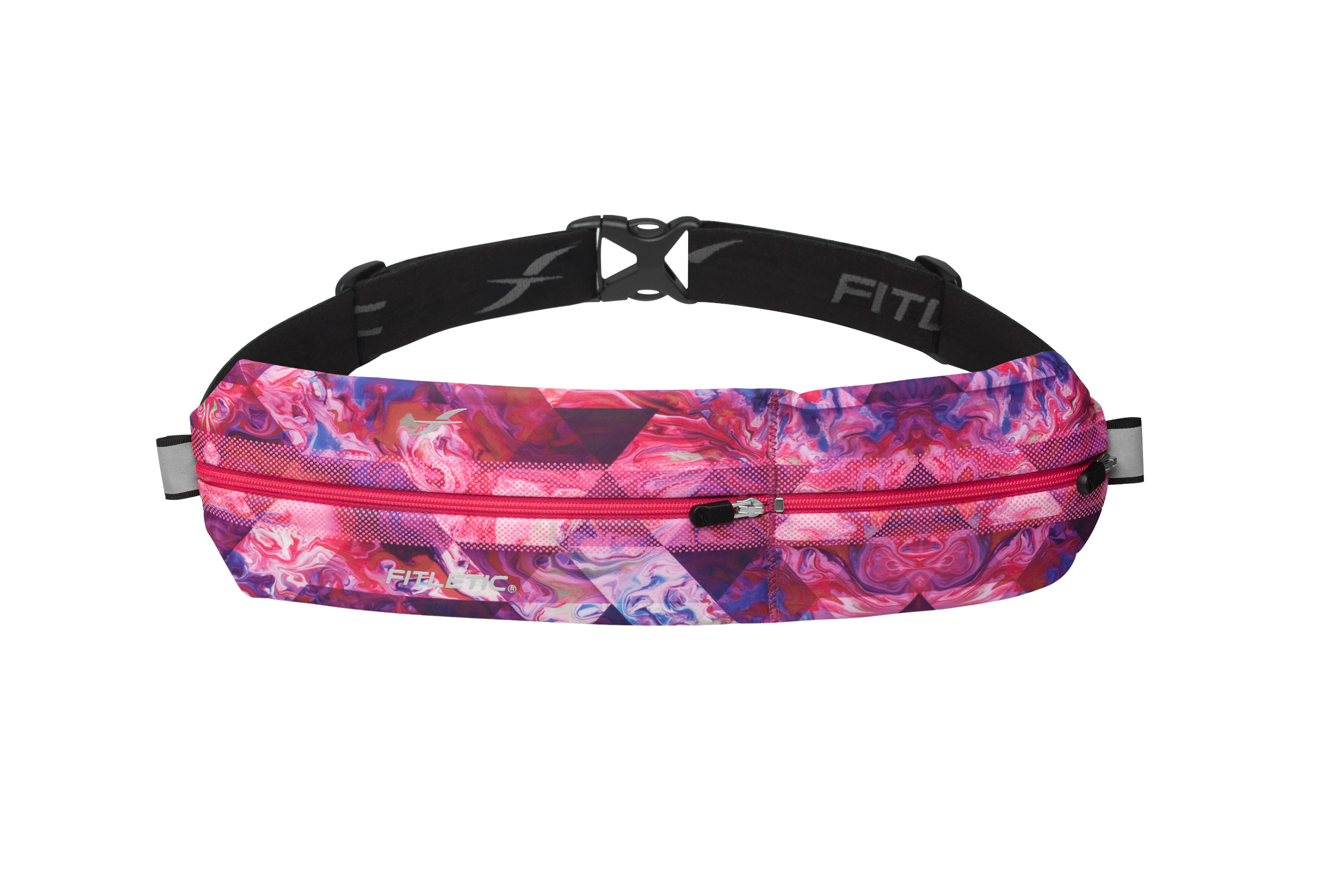 bold fit running pouch pink print
