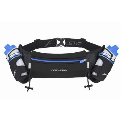 hydration belt for running and phone blue