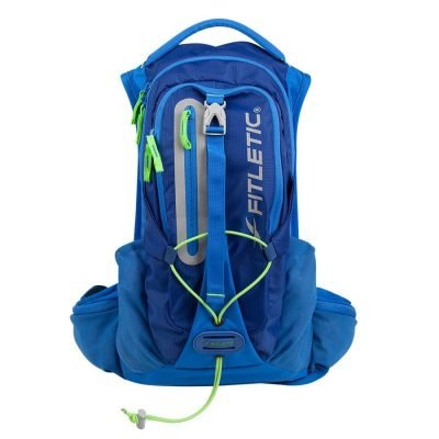 hydrun vest trail and hydration pack blue