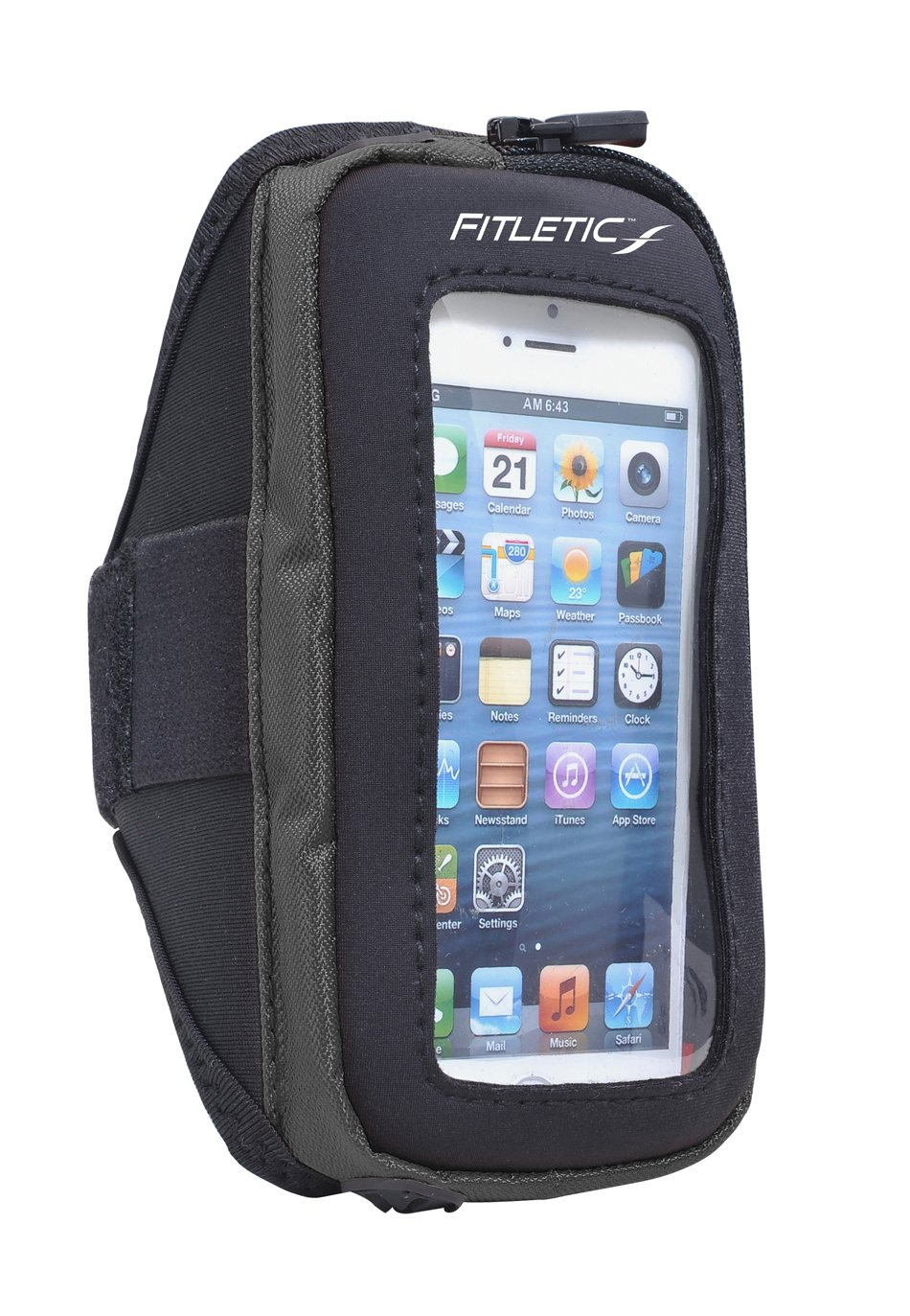 pace arm band with phone black