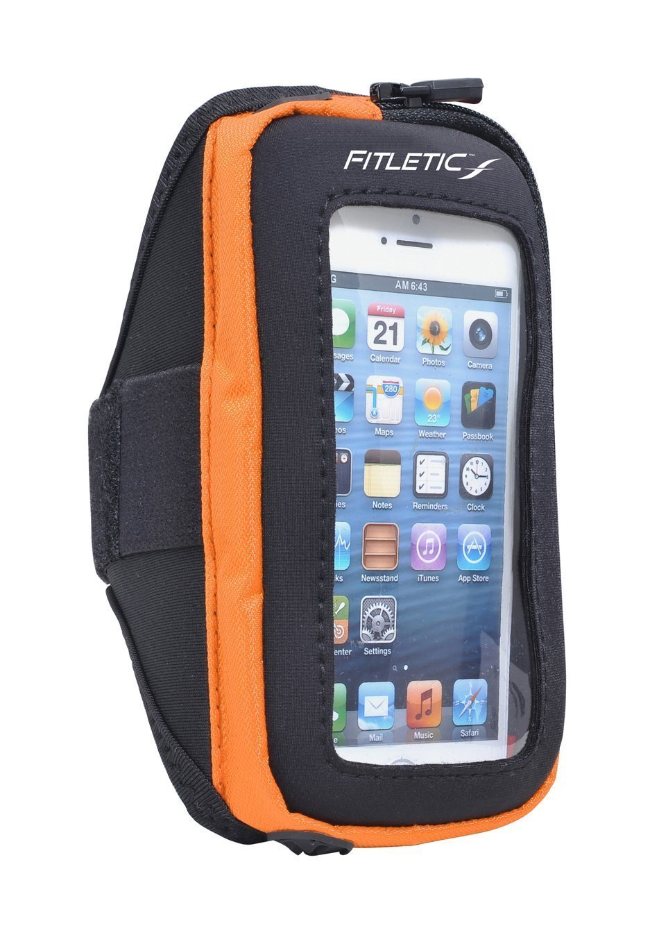 pace arm band with phone orange