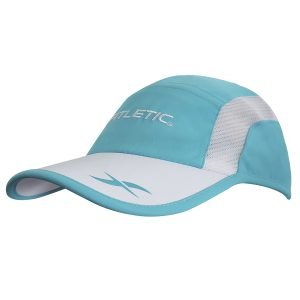 fitletic hat blue and white turquoise
