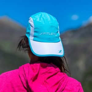 fitletic hat running hat turquoise