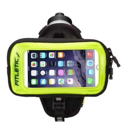 hydra palm bottle hand holder green with phone