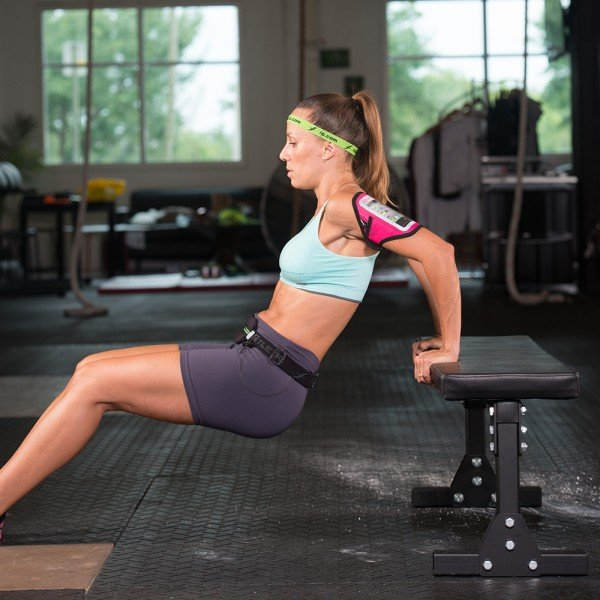 working out with fitletic armband