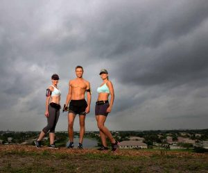 runners with fitletic gear