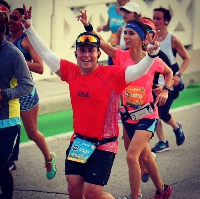 Marathon running with Fitletic