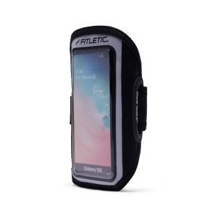 running armband for phone forte plus black side angle
