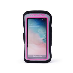 running armband for phone forte plus pink