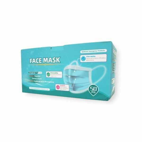 Disposable Protective Face Mask 3-Ply