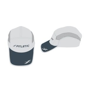fitletic gray hat sport hat running hat