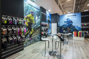 fitletic trade show booth